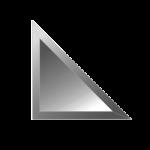 trikampes veidrodines plyteles