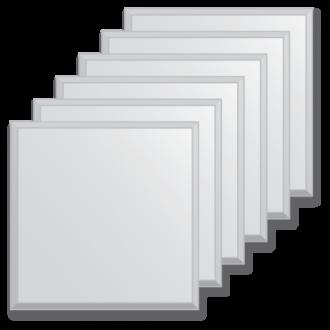 veidrodines plyteles 20x20