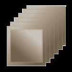 veidrodines plyteles bronzines spalvos