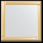 Veidrodžiai su veidrodiniu rėmu 60x60