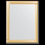 Veidrodžiai su veidrodiniu rėmu 60x80
