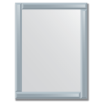 Veidrodis su veidrodiniu rėmu 60x80