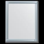 Veidrodis su veidrodiniu rėmu 70x90 cm