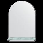 vonios veidrodis su lentynele 40x60