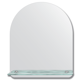 vonios veidrodis su lentynele 50x60