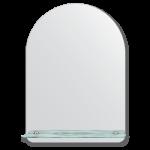 vonios veidrodid su lentynele