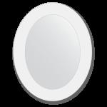 ovalus veidrodis 40x50