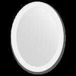ovalus veidrodis 60x80