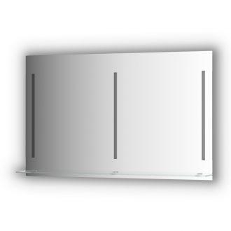 Veidrodis su apšvietimu ir lentynėle 120x75